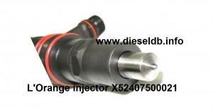L'Orange injector X52407500021 - 03
