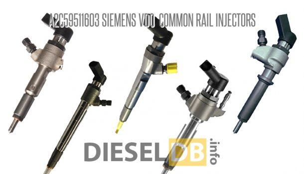 A2C59511603 Siemens VDO Common Rail Injectors ‹ DieselDB
